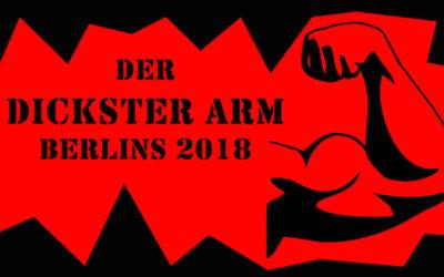 DER DICKSTER ARM BERLINS 2018 BEI CONAN GAMES