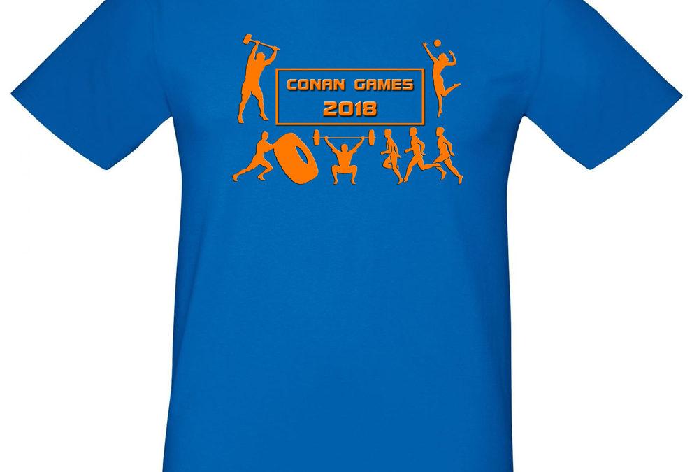 CONAN GAMES 2018 EVENT SHIRT IST SCHON DA !!!